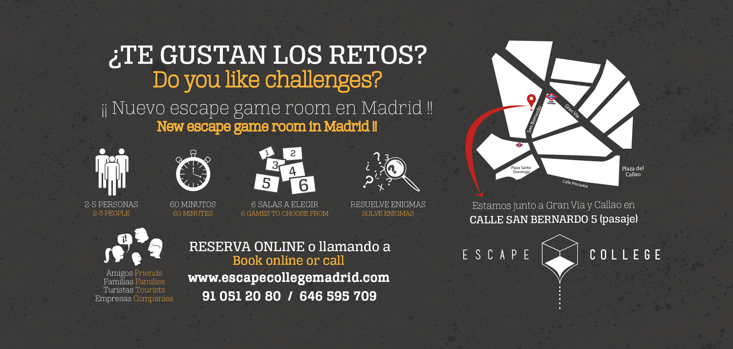 Escape College Room en Madrid