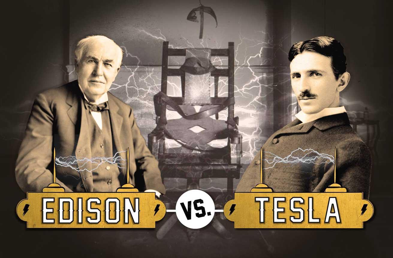 Ediso vs Tesla. Sala de escape de tercera generación